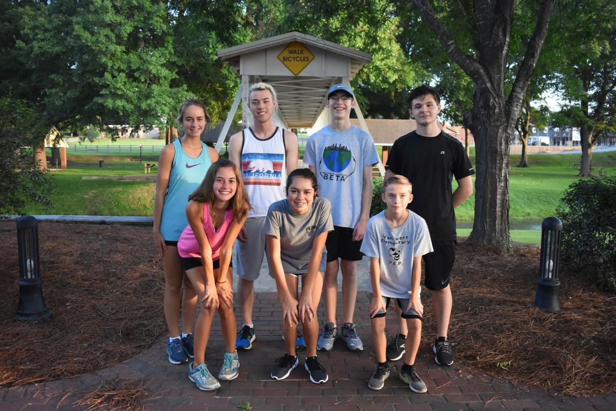 Rockmart Cross Country July 2019