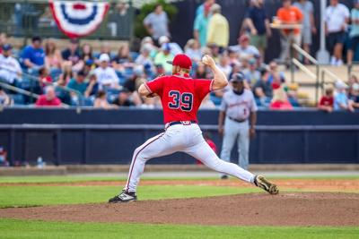 Rome Braves - Coleman Huntley pitching vs. Bowling Green