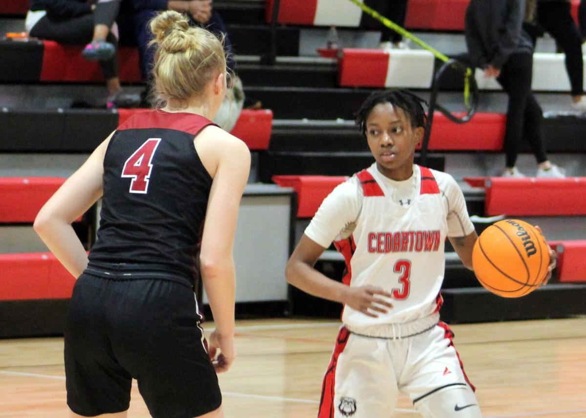 Cedartown girls kick off region tournament with dominant performance