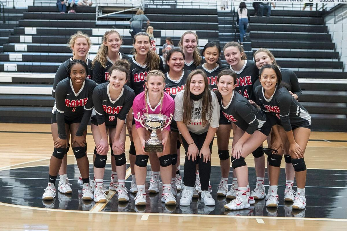 Rome Lady Wolves Volleyball - Battle of the Counties Championship Trophy