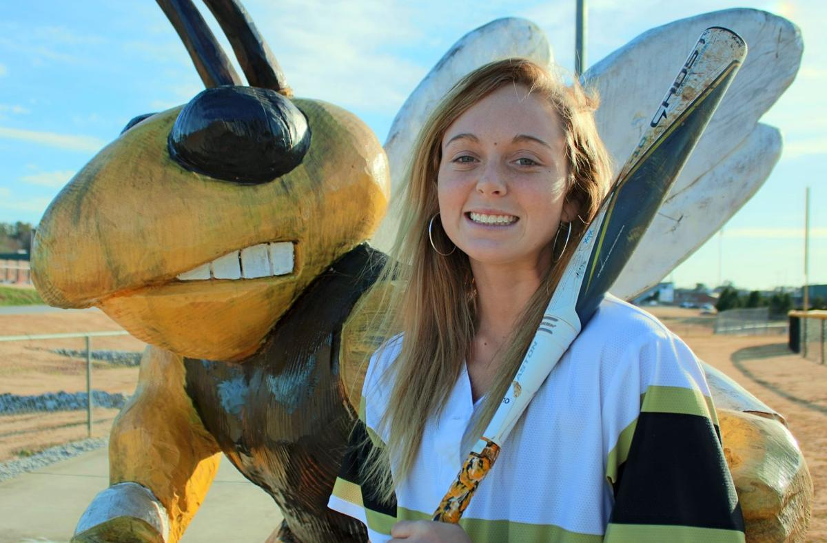 RN-T All-Area Softball Player of the Year Alexis Teems