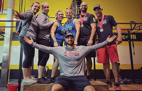 Local CrossFit team
