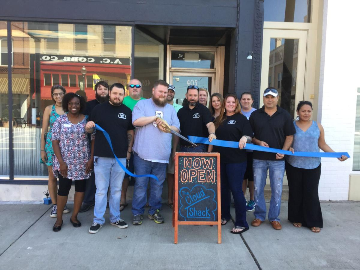 Cloud Shack ribbon cutting in Cedartown