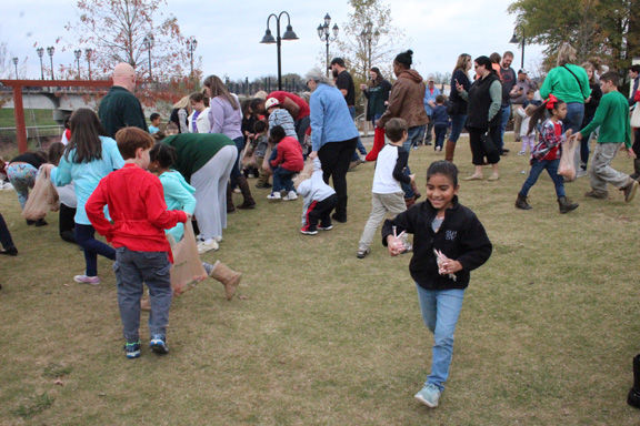 Holiday Open House held Saturday: Candy Cane hunt a smash