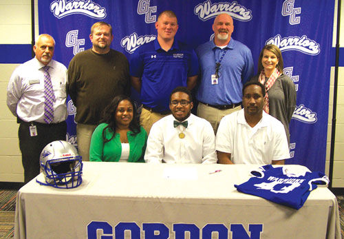 Gordon Central's Cam Williams signs with Bethany College