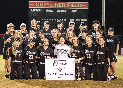 Calhoun Softball wins sixth straight region title
