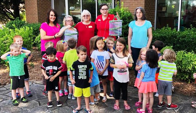 Local library, Morning Pointe give special Memorial Day butterfly release