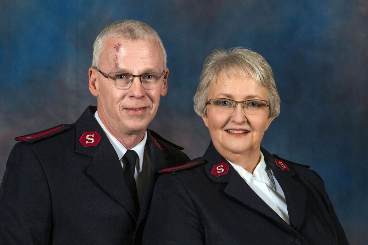 New Salvation Army leaders