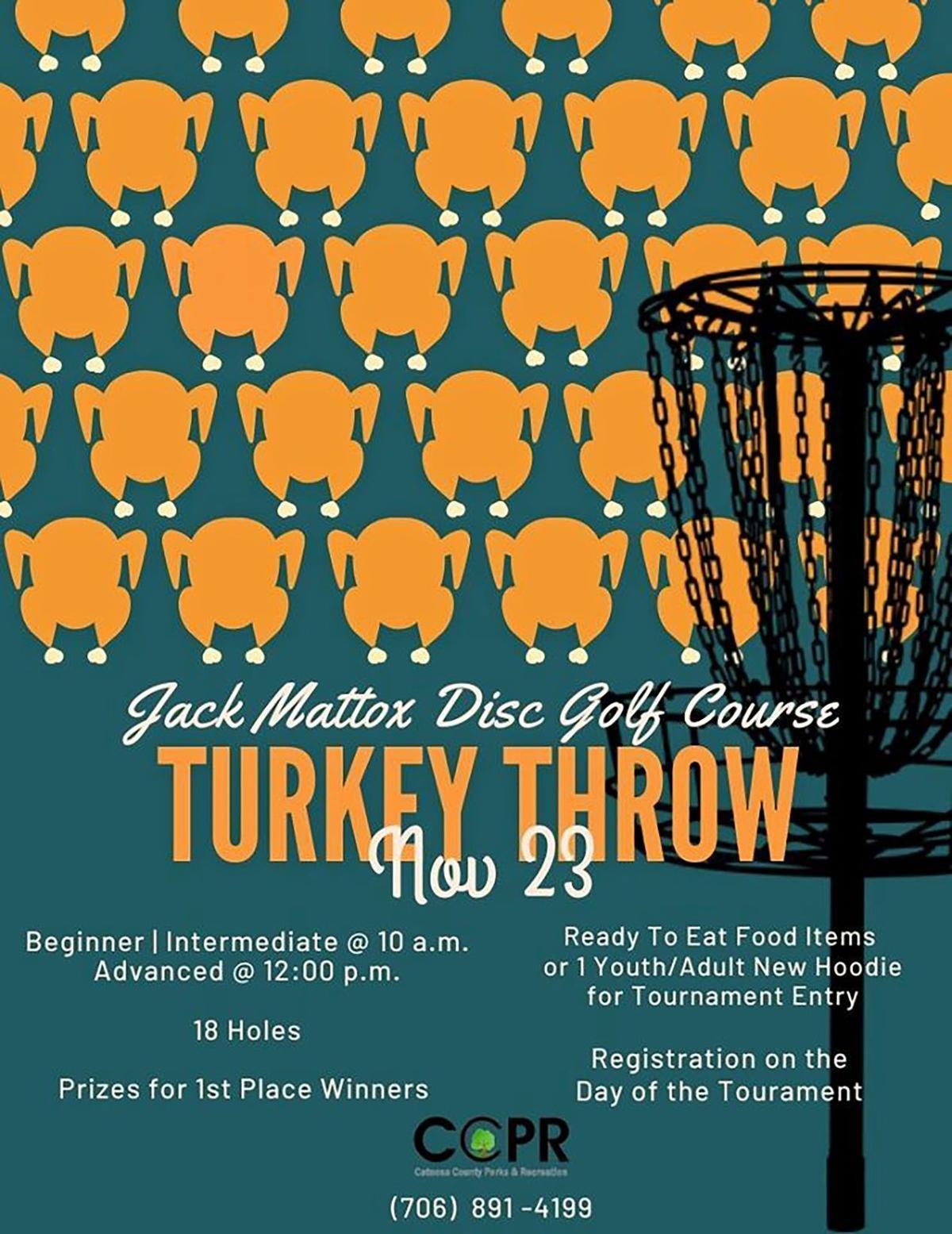Catoosa Turkey Throw