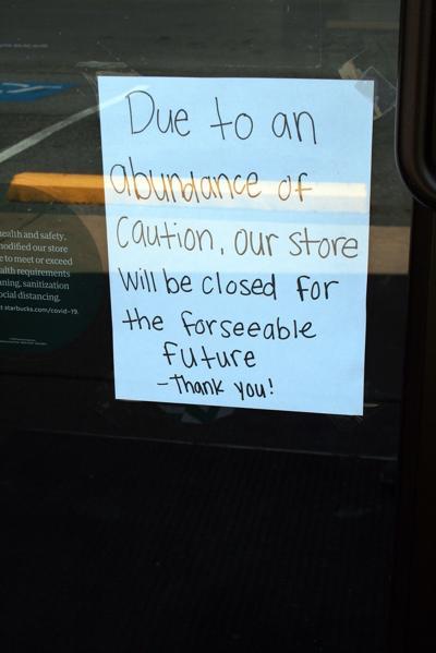 Starbucks closed indefinitely
