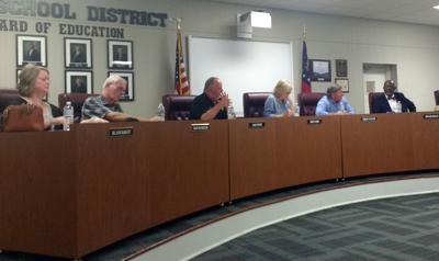 Polk County Board of Education September 2018 work session