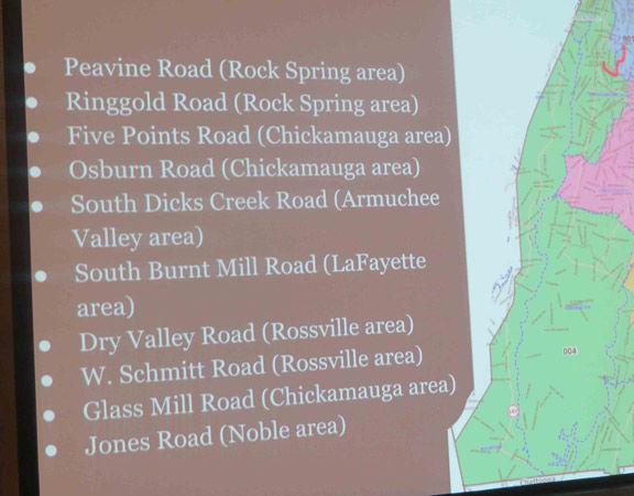 comm forum roads