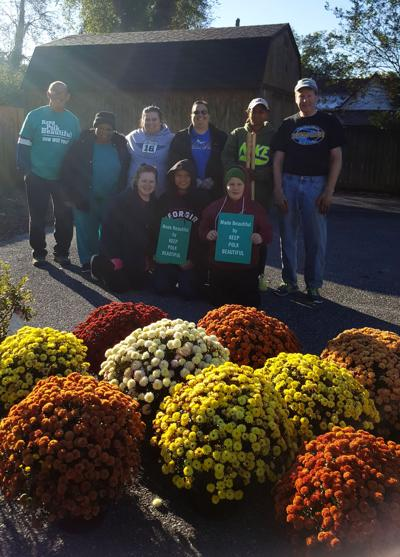 Keep Polk Beautiful holds Fall plant day in Cedartown