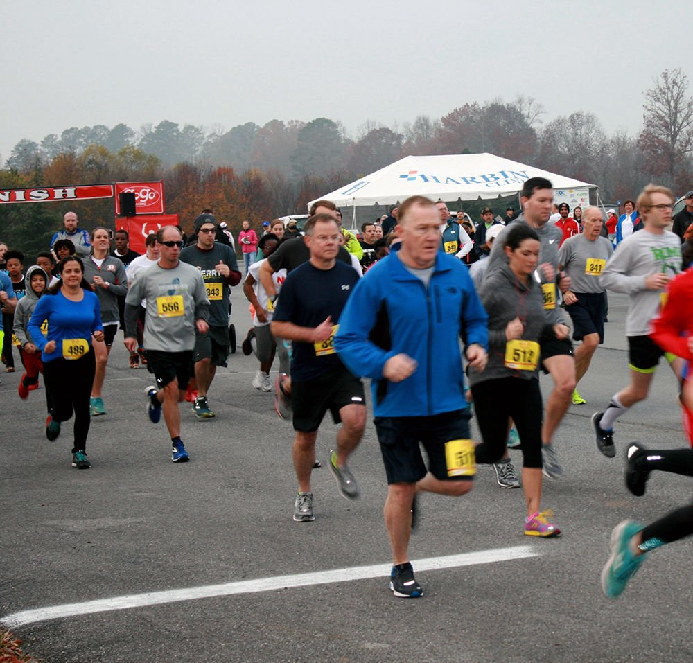 The River City Bank Rome Half Marathon, Half Relay and 5K