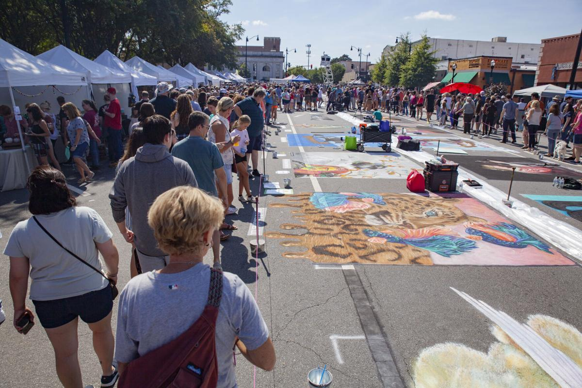 Chalktoberfest returns to Marietta Square