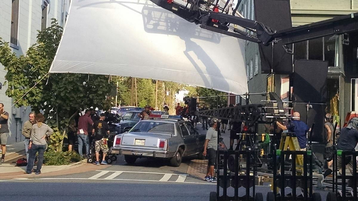 Hap and Leonard filming 2017