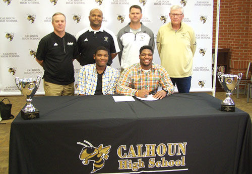 Calhoun's CJ Fuller signs with Union College