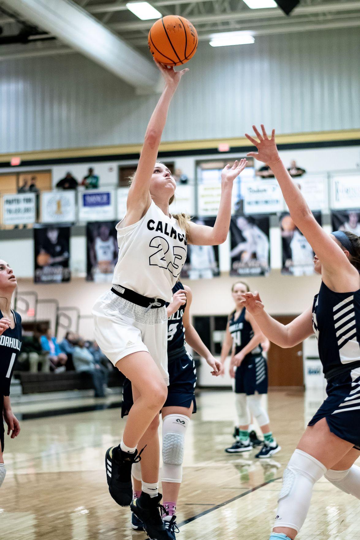 Calhoun Basketball - Anna George vs. Coahulla Creek