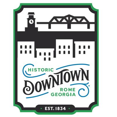 downtown rome logo