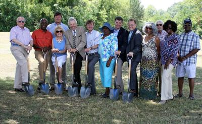 South Rome ground-breaking