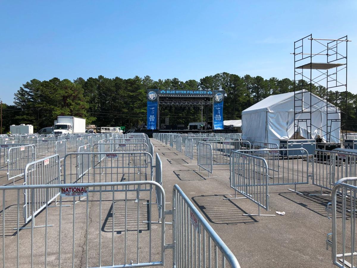 Rome River Jam taking shape at Coosa Valley Fairgrounds