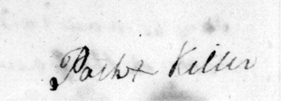 Path Killer signature