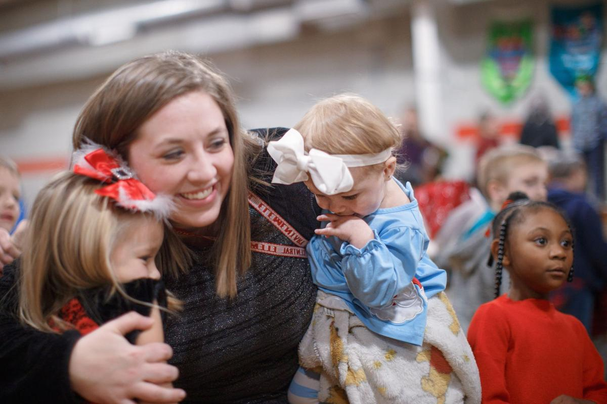 Elementary School's kindergarten and first grade PTO Christmas performance