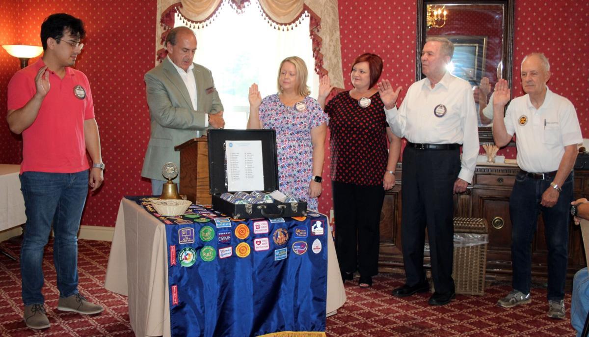 Cedartown Exchange installs new officers for 2021-2022