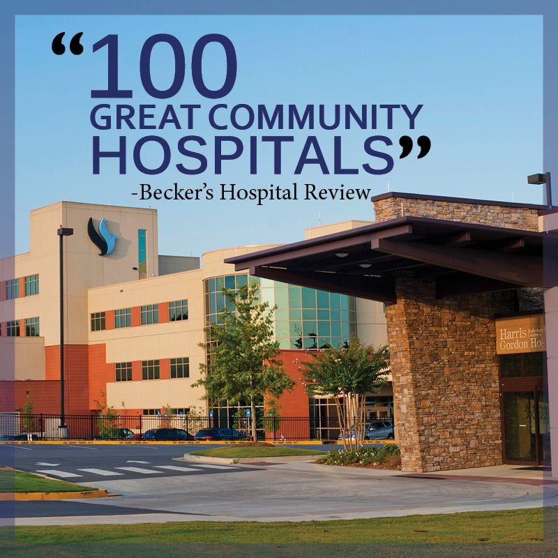 Gordon Hospital named among 100 Great Community Hospitals