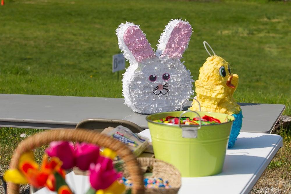 Easter egg hunt at Coosa Valley Fairgrounds