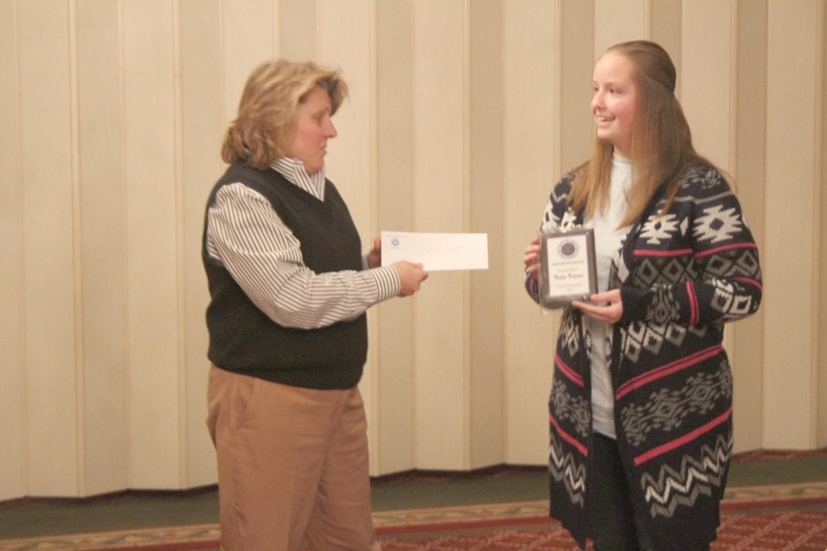 Cedartown Exchange Club Student of the Month January 2018