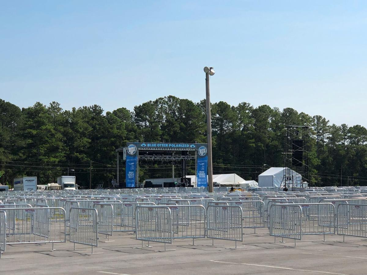Rome River Jam taking shape at the Coosa Valley Fairgrounds
