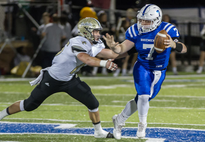 PREP FOOTBALL: Jackets dominate Bremen to secure subregion top seed