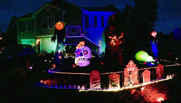Community invited to view SPOOKtacular Halloween display in Meadowbrook Subdivision