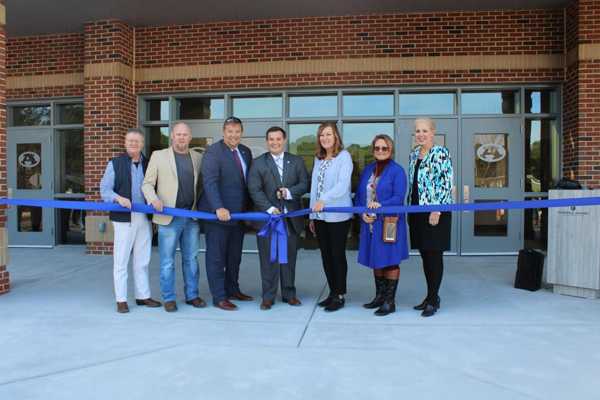 Armuchee High's new gym opened on Friday