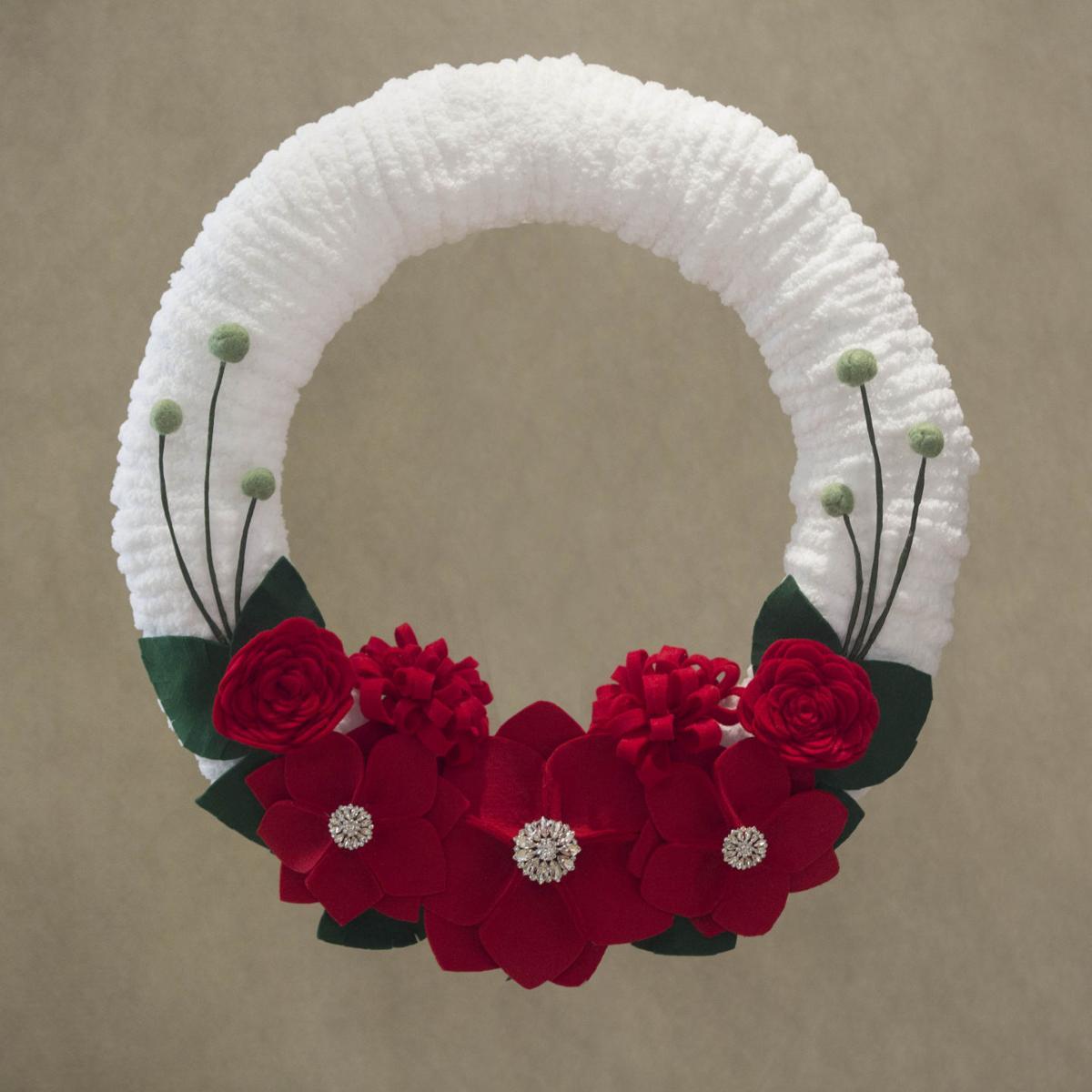Cancer Navigators wreath auction