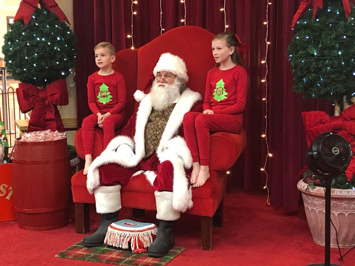 Santa at Mount Berry Mall