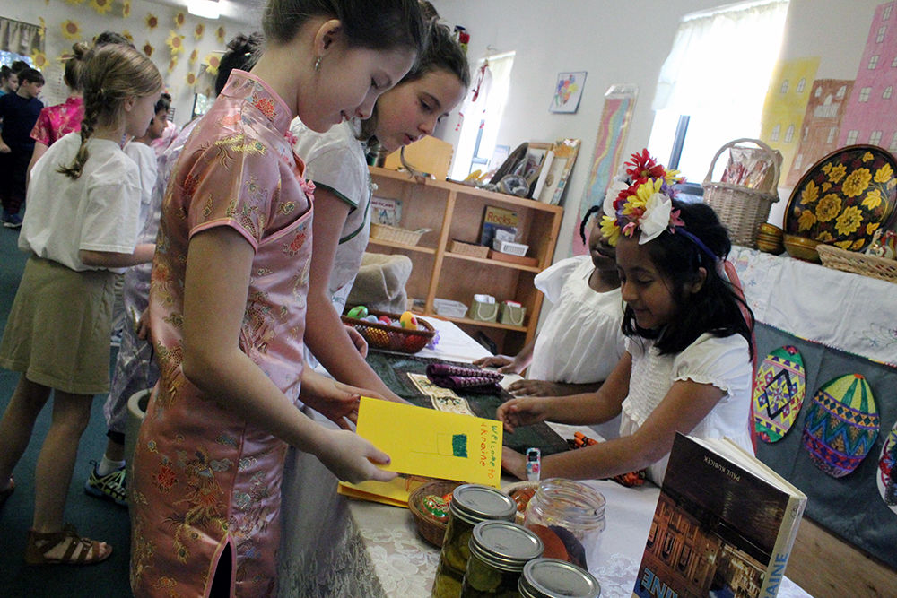 Montessori School explores the world with International Day
