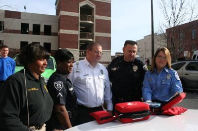 Defibrillators arrive for Rome patrol cars
