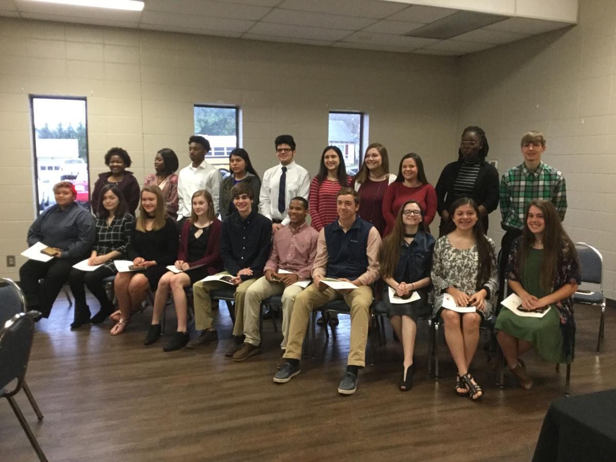 Chamber Youth Leadership Graduation