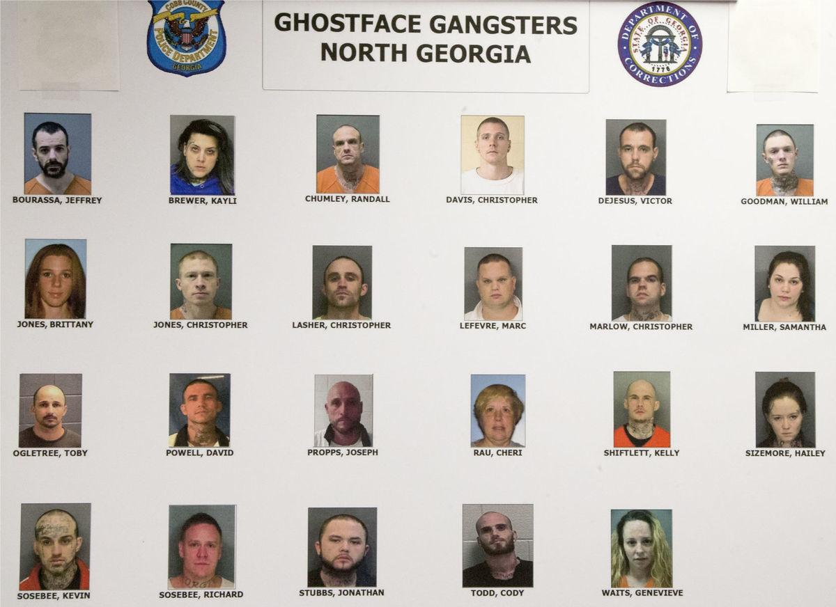 Ghost face gangsters