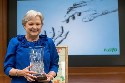 Floyd Medical Center names Volunteer of the Year
