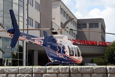 Air Methods Air Life helicopter