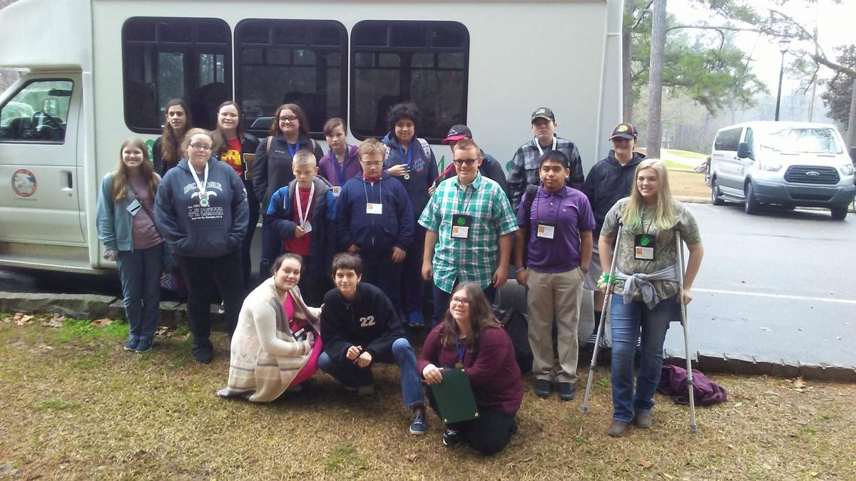 Polk 4-H students compete at Northwest District Project Achievement