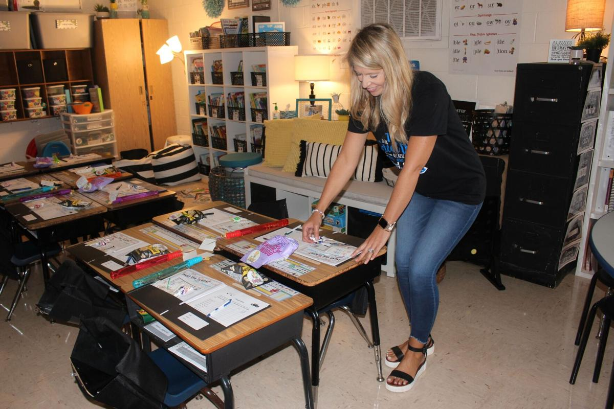 Teachers prepare for students to return to the classroom Thursday