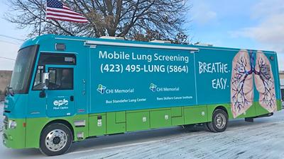 CHI Memorial's mobile lung CT coach