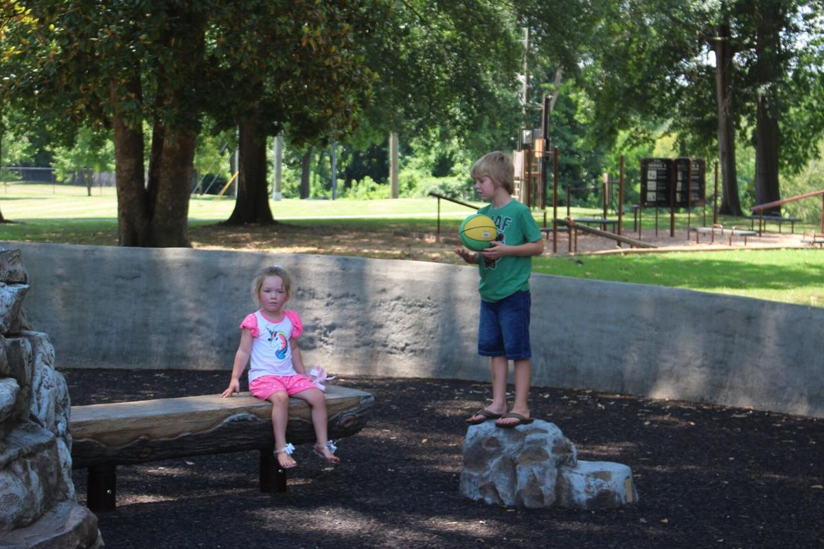 Summer playtime at Ridge Ferry Park