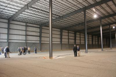 Development authority celebrates purchase of spec building
