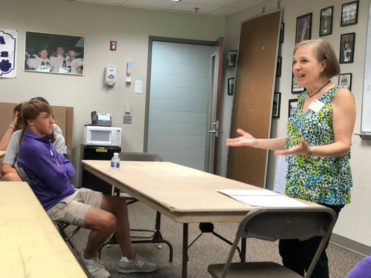 Darlington seniors go through College Boot Camp on first day