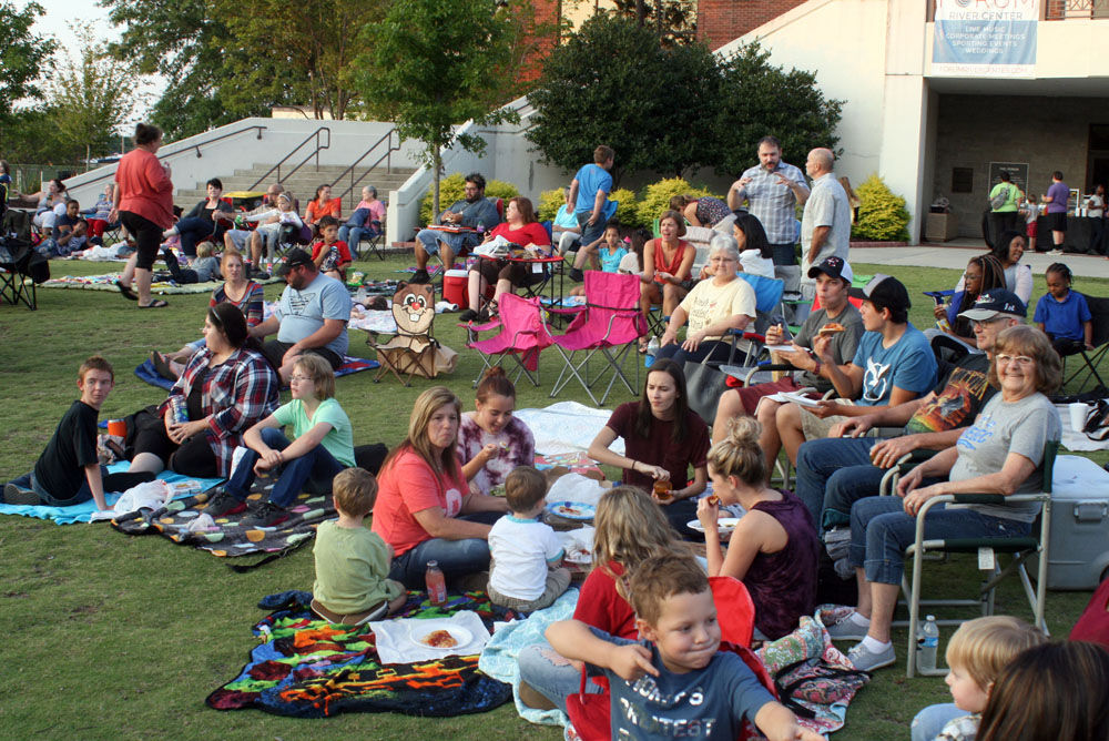 'Beauty and the Beast' at the Town Green